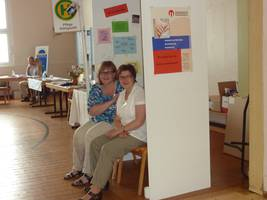 Pflegestützpunkt mit der Demenz-Bushaltestelle